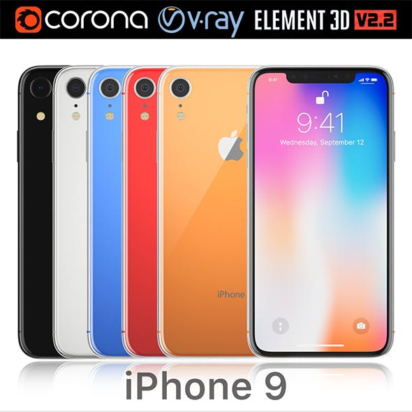 Apple iPhone 9 all colors