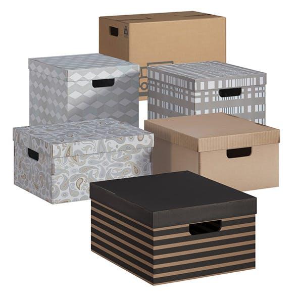 L3DV03G02 - boxes set