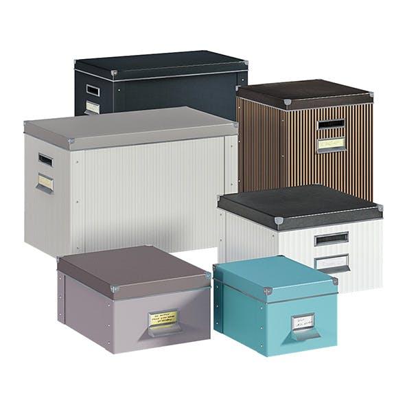L3DV03G03 - boxes set - 3DOcean Item for Sale