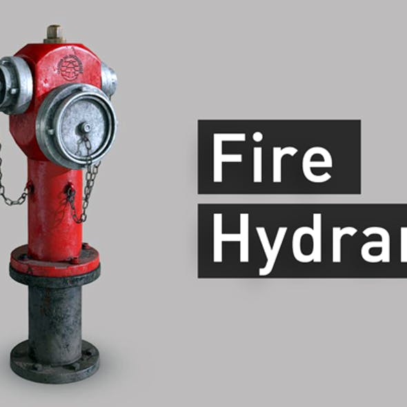 Low Poly Fire Hydrant