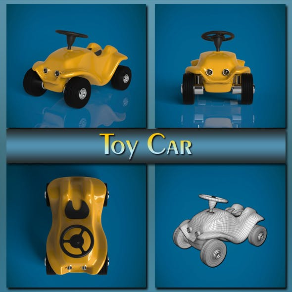 Toy Car - 3DOcean Item for Sale