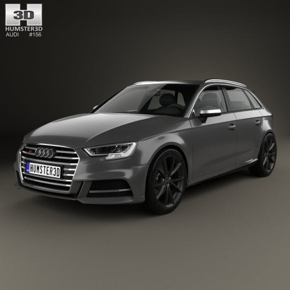 Audi S3 Sportback 2016 - 3DOcean Item for Sale