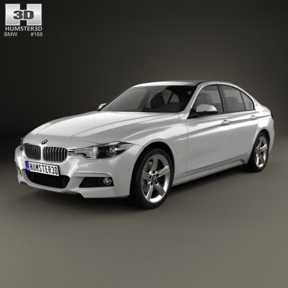 BMW 3 Series (F30) E 2016 - 3DOcean Item for Sale