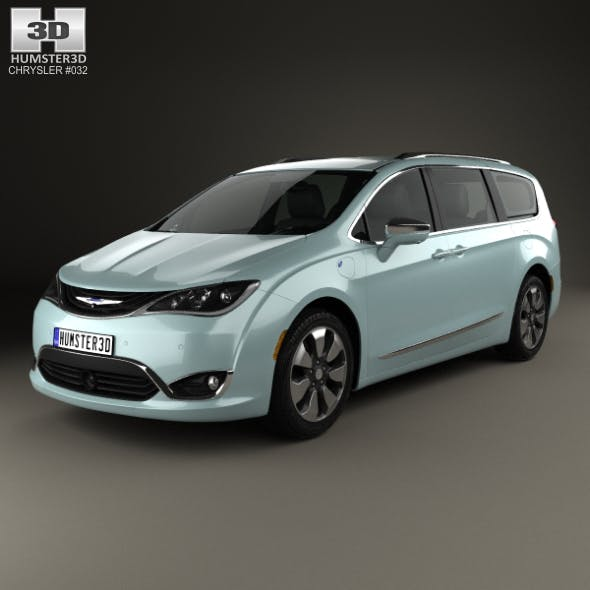 Chrysler Pacifica Hybrid 2017 - 3DOcean Item for Sale