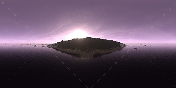 Morning Ocean Island HDRI Sky - 3DOcean Item for Sale