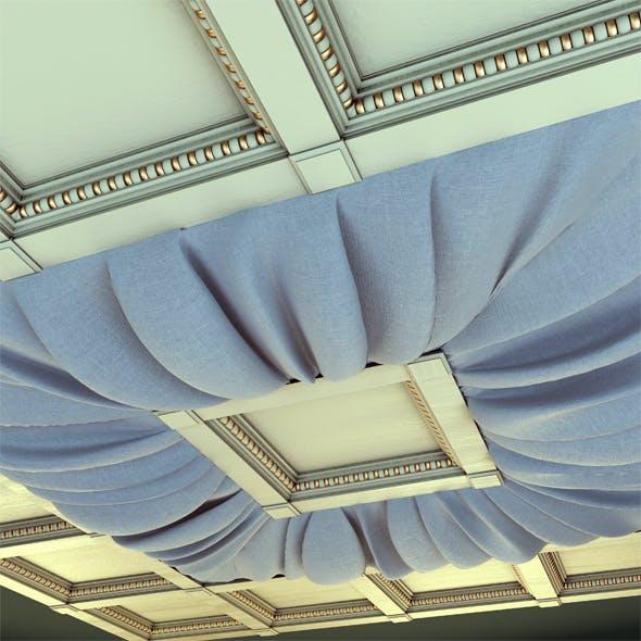 Drapery ceiling