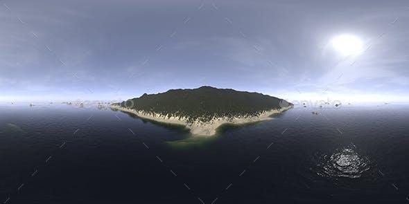 Afternoon Ocean Island HDRI Sky - 3DOcean Item for Sale