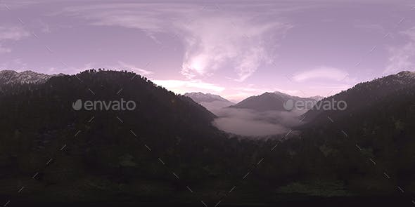 Early Morning Mountain Forest HDRI Sky - 3DOcean Item for Sale