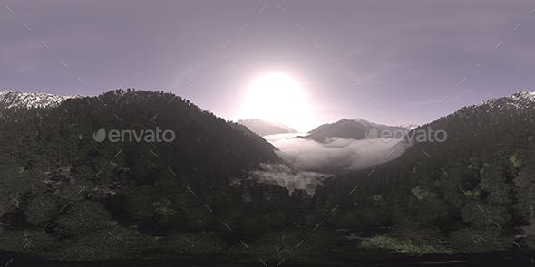 Late Morning Mountain Forest HDRI Sky - 3DOcean Item for Sale