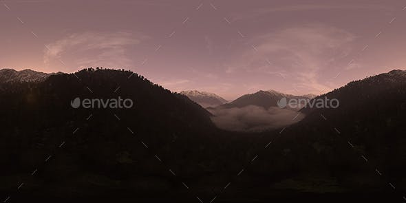 Late Evening Mountain Forest HDRI Sky - 3DOcean Item for Sale