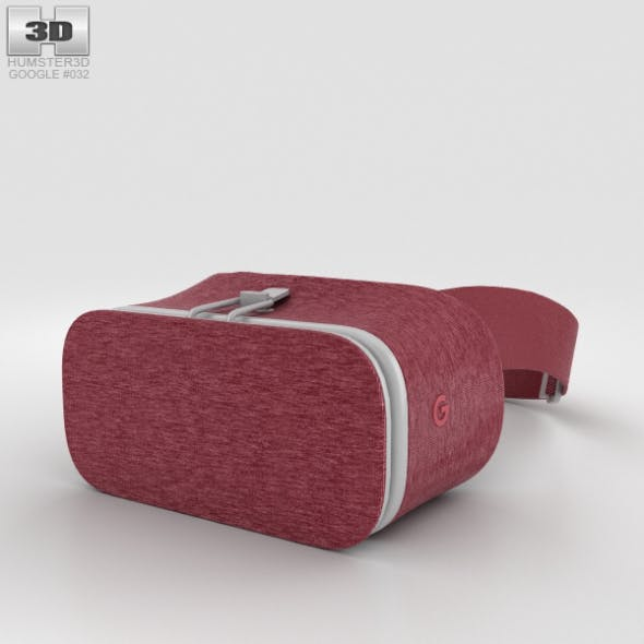 Google Daydream View Crimson - 3DOcean Item for Sale