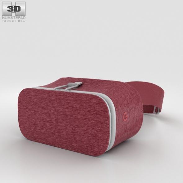 Google Daydream View Crimson