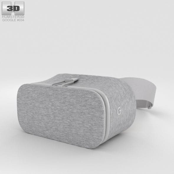 Google Daydream View Snow - 3DOcean Item for Sale