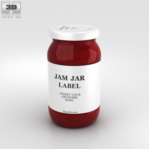 Jam Jar - 3DOcean Item for Sale