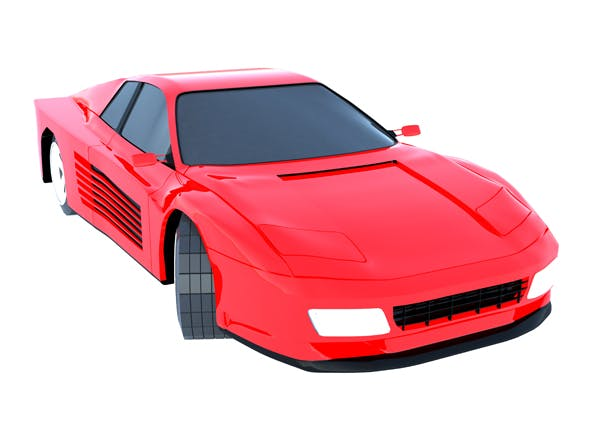 Ferrari 512 Testarossa - 3DOcean Item for Sale