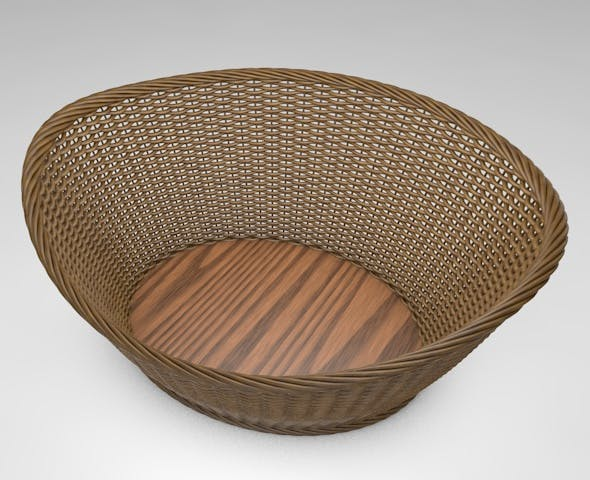 3D Basket - 3DOcean Item for Sale