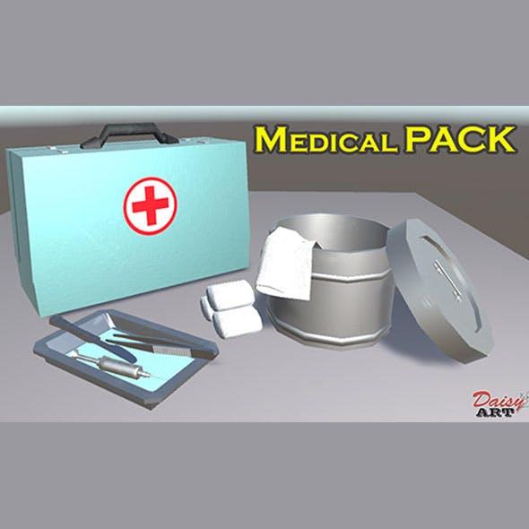Medical instruments - 3DOcean Item for Sale