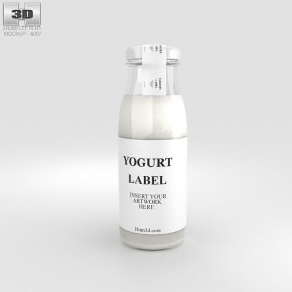 Yogurt Bottle - 3DOcean Item for Sale