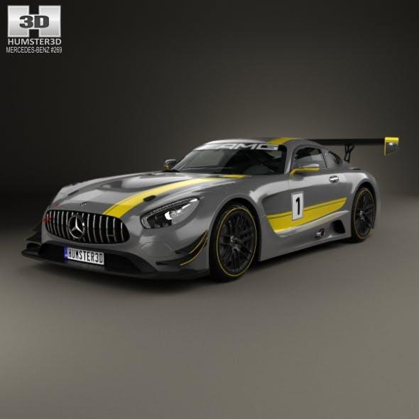 Mercedes-Benz AMG GT3 2015 - 3DOcean Item for Sale