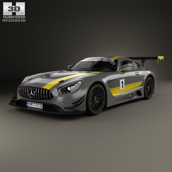 Mercedes-Benz AMG GT3 2015