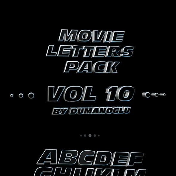 Fast & Furious 6 | Alphabet Pack