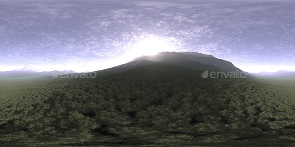 Late Morning Hill HDRI Sky - 3DOcean Item for Sale