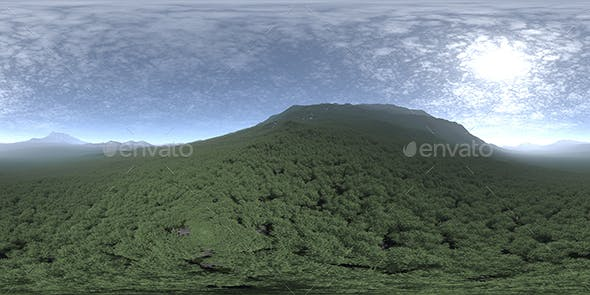Afternoon Hill HDRI Sky - 3DOcean Item for Sale