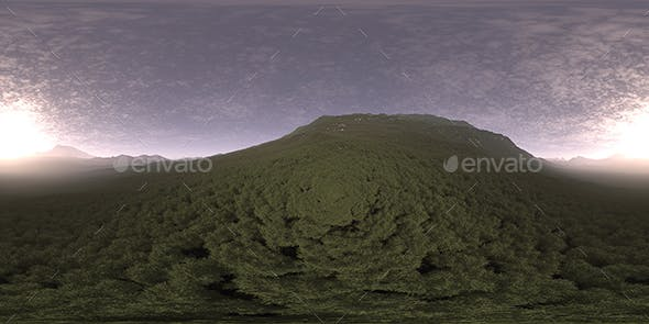 Early Evening Hill HDRI Sky - 3DOcean Item for Sale