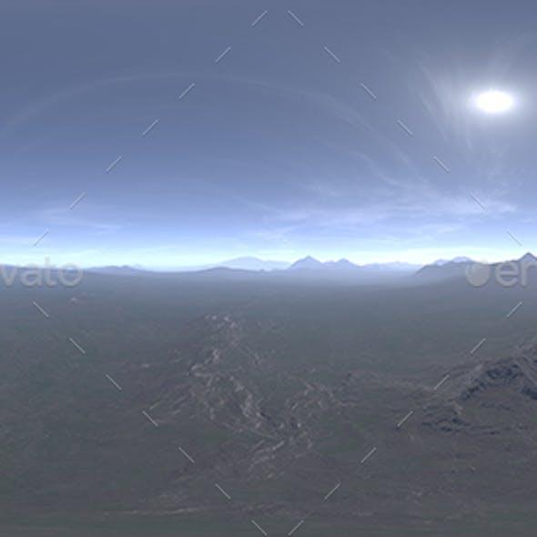 Noon Tundra HDRI Sky
