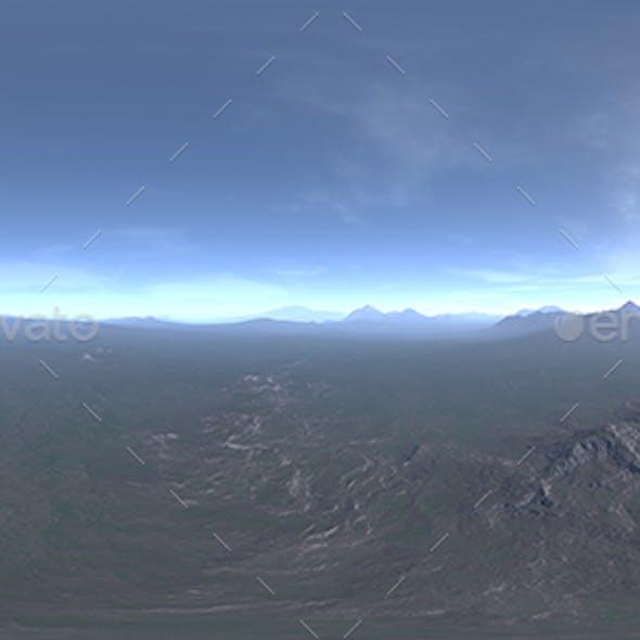 Afternoon Tundra HDRI Sky