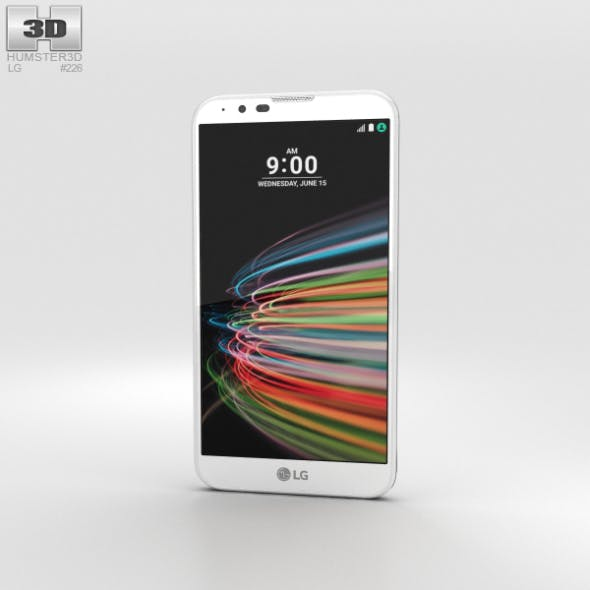 LG X Mach White - 3DOcean Item for Sale