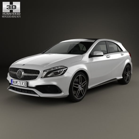 Mercedes-Benz A-Class (W176) AMG Line 2016 - 3DOcean Item for Sale