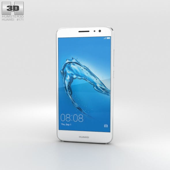 Huawei Nova Plus Mystic Silver - 3DOcean Item for Sale