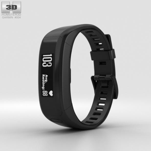 Garmin Vivosmart HR Black - 3DOcean Item for Sale