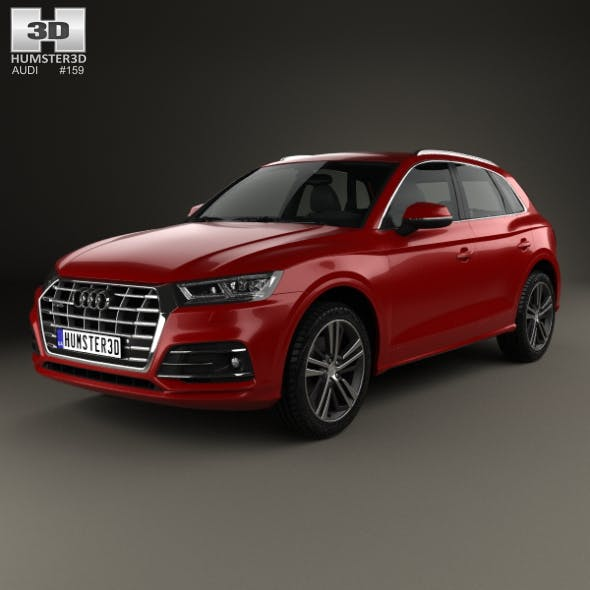 Audi Q5 S-Line 2016 - 3DOcean Item for Sale