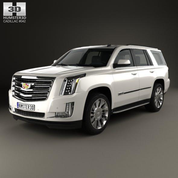 Cadillac Escalade (EU) 2015 - 3DOcean Item for Sale