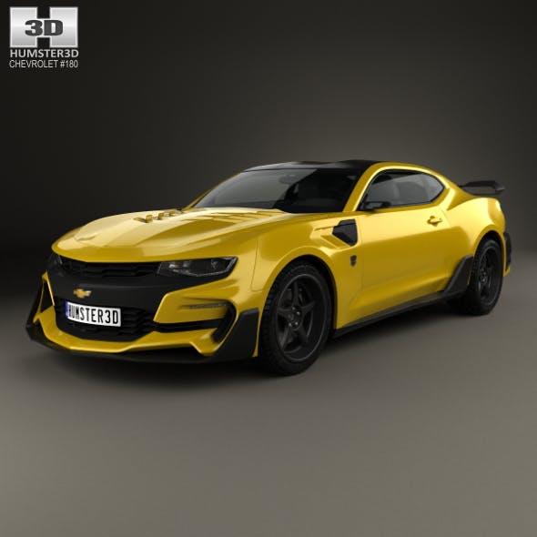 Chevrolet Camaro Bumblebee 2017 - 3DOcean Item for Sale