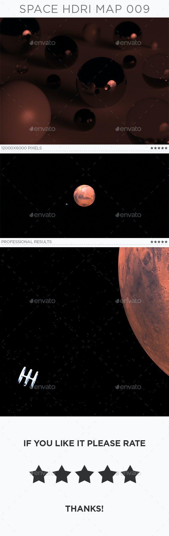 Space HDRi Map 009 - 3DOcean Item for Sale