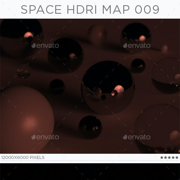 Space HDRi Map 009
