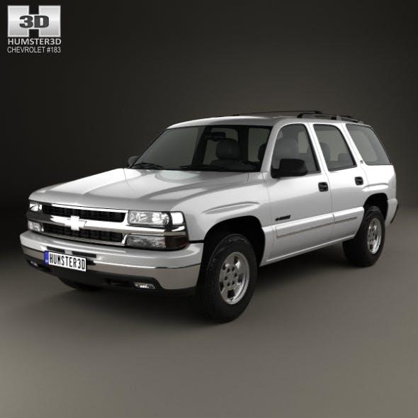 Chevrolet Tahoe LS 2002 - 3DOcean Item for Sale