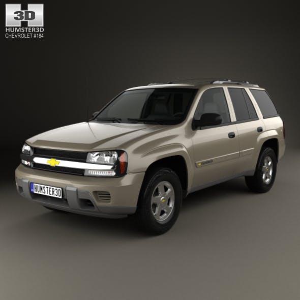 Chevrolet TrailBlazer LT 2002 - 3DOcean Item for Sale