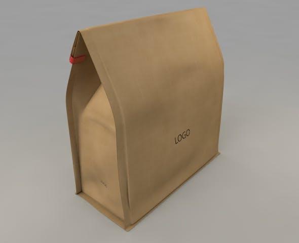 3D Paper Bag - 3DOcean Item for Sale