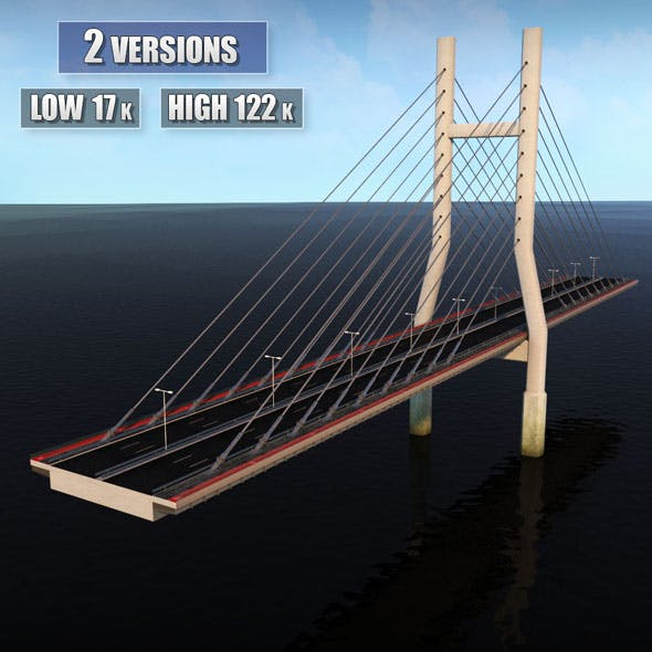Double Suspended Road Bridge