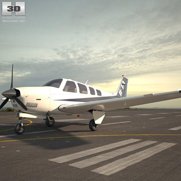 Beechcraft A36 Bonanza - 3DOcean Item for Sale