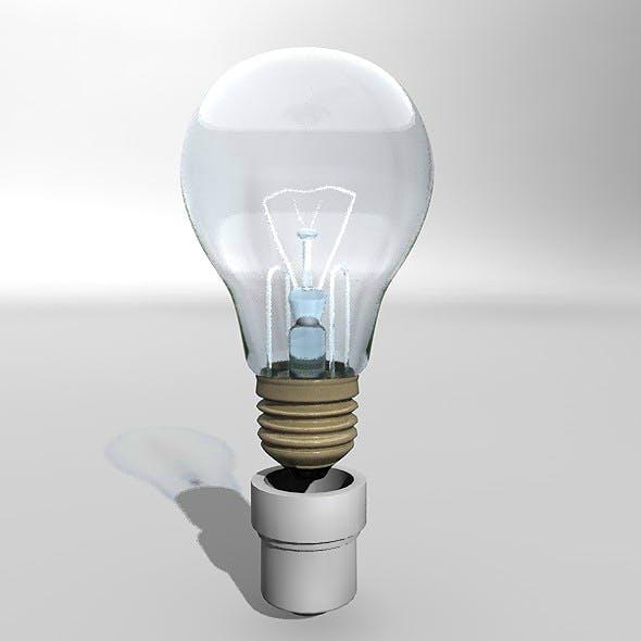 simple spherical lamp - 3DOcean Item for Sale