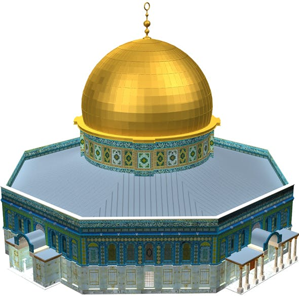 Al Aqsa Mosque Mezroca