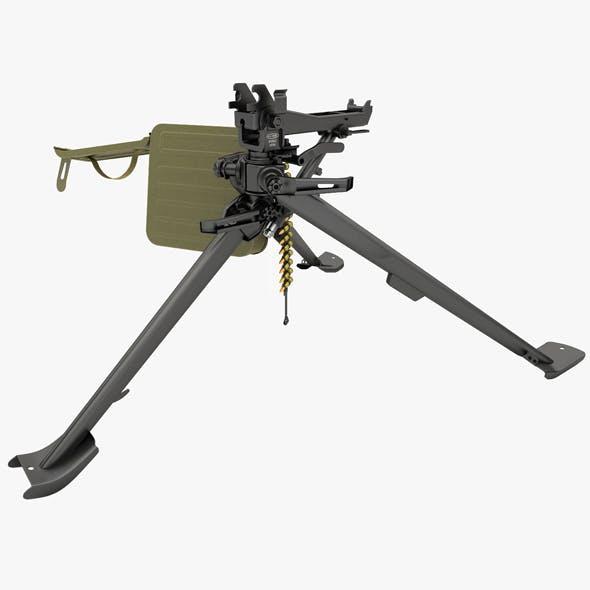 tripod mount for machine gun - 3DOcean Item for Sale