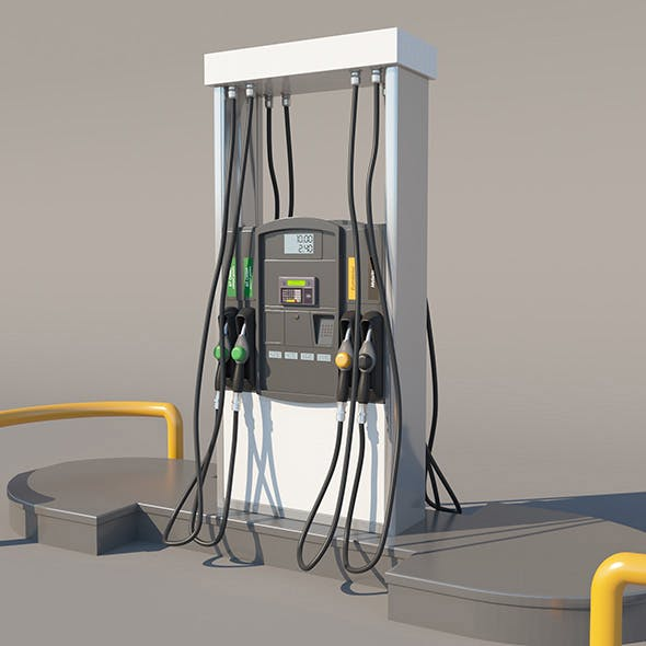 Fuel Dispenser - 3DOcean Item for Sale
