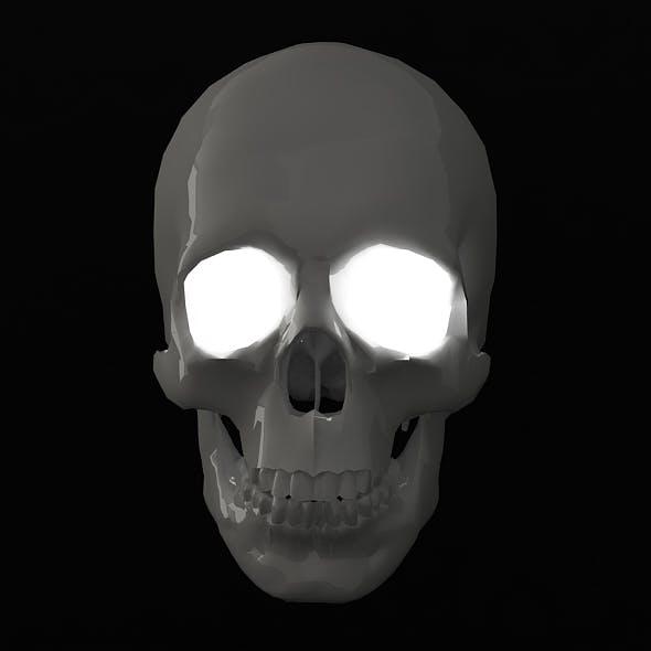 Human Skull - 3DOcean Item for Sale