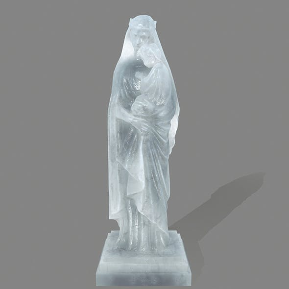 ice  Woman_Statue - 3DOcean Item for Sale